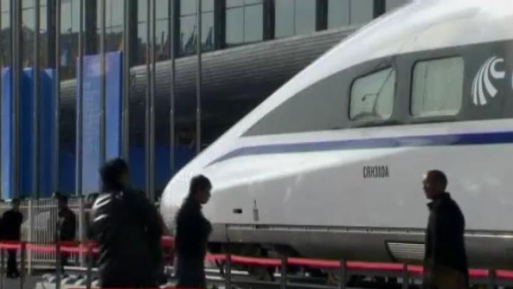 Tham vọng đường sắt cao tốc của TQ