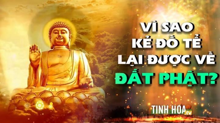 Vì sao kẻ đồ tể lại được về đất Phật ?