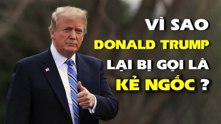 """Vì sao TT Trump bị một số người gọi là """"kẻ ngốc""""?"""