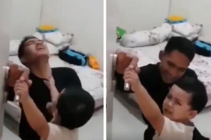 Con trai nhỏ gào khóc, 'giữ chân' bố ở nhà vì dự cảm chuyện chẳng lành trên tàu ngầm Indonesia