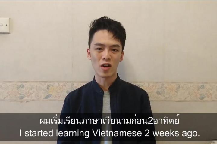 Xem người Hồng Kông học nói tiếng Việt và tiếng Thái