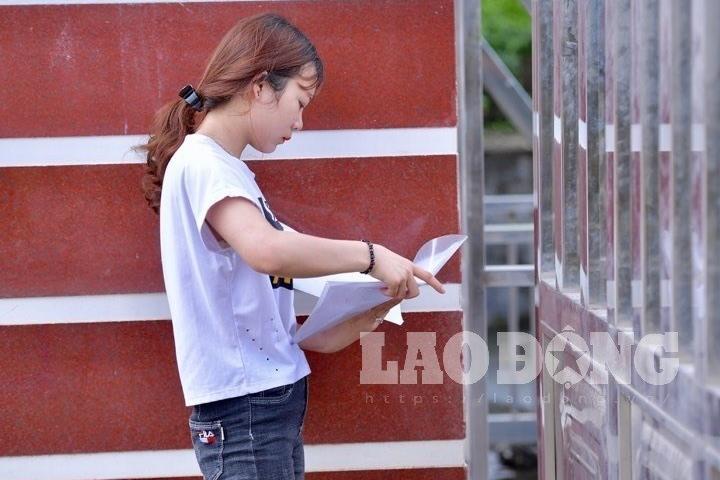 Ngủ quên, nữ sinh Hà Giang không được vào phòng thi