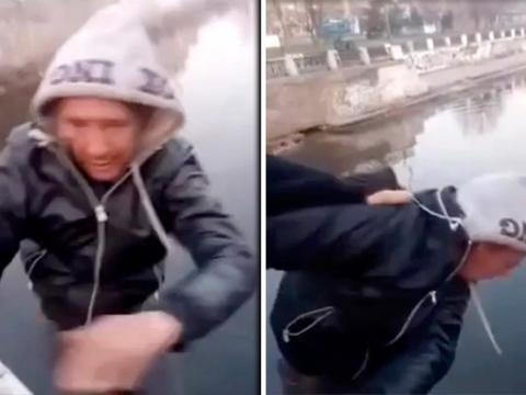 Bị 2 thanh niên ép nhảy sông để quay video câu view, một người đàn ông tử vong