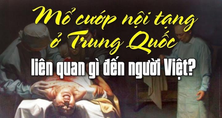 Mổ cướp nội tạng ở Trung Quốc liên quan gì đến người Việt