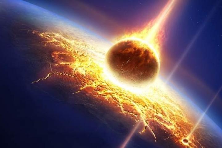 Mô phỏng thiên thạch va vào trái đất 2029