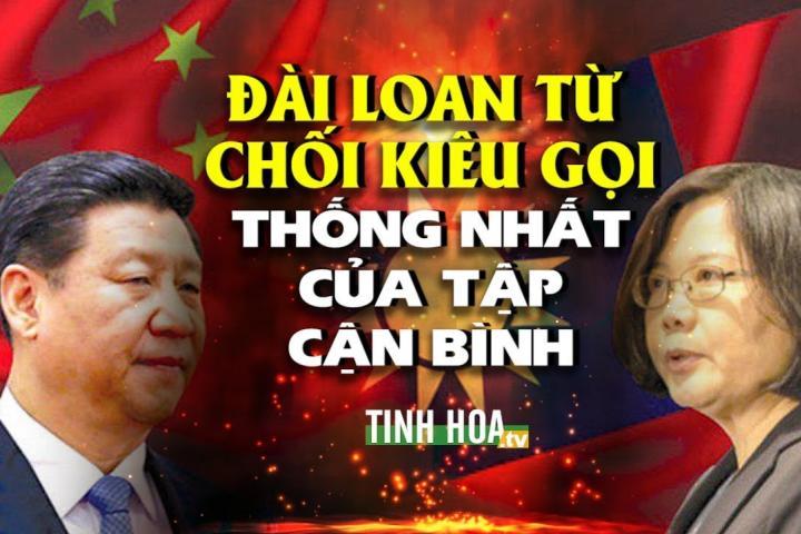 Đài Loan NÓI KHÔNG với việc trở về với Trung Quốc