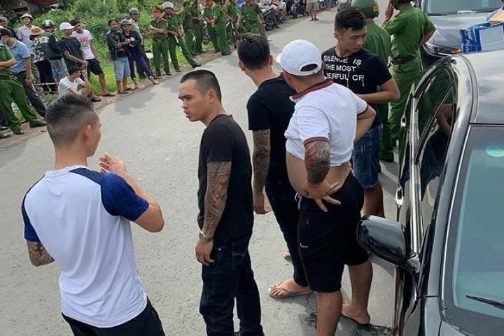 Những người trong xe bị giang hồ Đồng Nai bao vây là công an